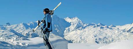 Vakantie Frankrijk - Skiër