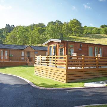 Voorbeeld woning Pen-Y-Garth Lodges