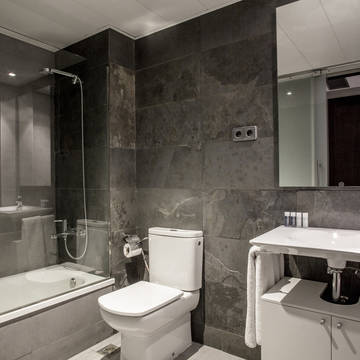 Badkamer Appartementen Aramunt Barcelona