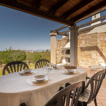 Voorbeeld terras Vista Blu Resort