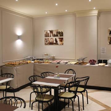 Ontbijtruimte Hotel Albergo Firenze