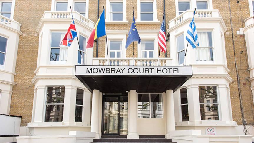 Voorzijde Hotel Mowbray Court