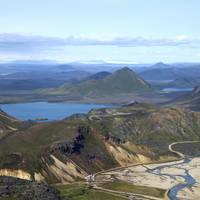 Ljotipollur kratermeer - Landmannalaugar