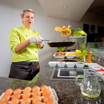 Genieten van een eitje Parkhotel Rügen