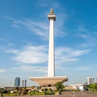 Nationaal Monument Monas in Jakarta