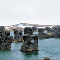 Lavaformatie bij Myvatn