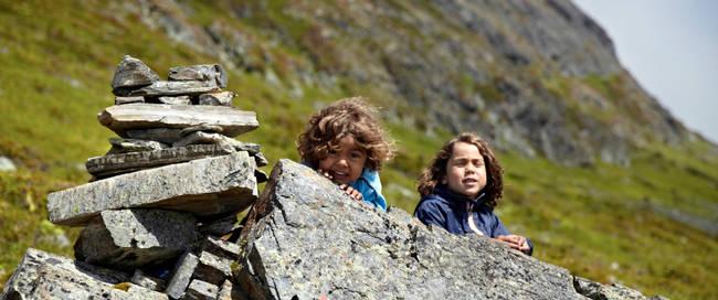 Voss - bergwandeling met de kids Fotograaf: Kyrre Wangen
