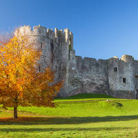 Wye Valley, Monmouthshire - Chepstow Castle