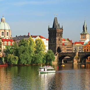 Uitzicht Praag