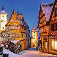 Kerstreis, kerstmarkt, Duitsland, Beieren