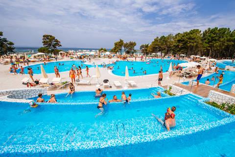 Deal bungalow Dalmatië 🏕️Camping Zaton Holiday Resort
