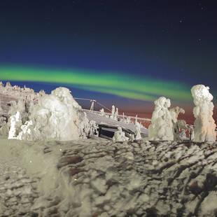 Winterwonderland met Noorderlicht