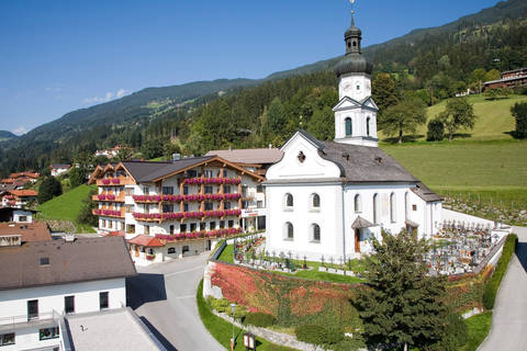 Goedkope autovakantie Tirol 🚗️Ferienhotel Hoppet