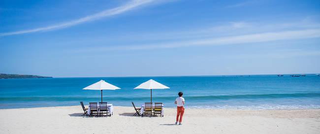 Strand van Denpasar