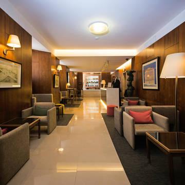 Lobby Hotel Miraparque
