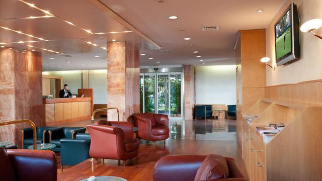 Lobby Hotel Raffaelo