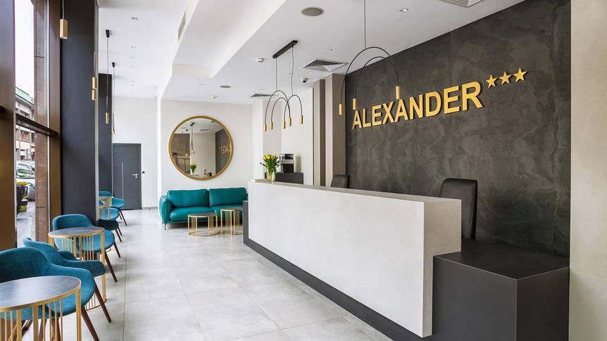 Receptie Hotel Alexander