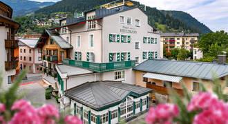 Voorzijde hotel Heitzmann Zell am See