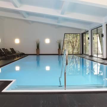 Overdekt zwembad Waldhotel Berghof in Luisenthal Waldhotel Berghof