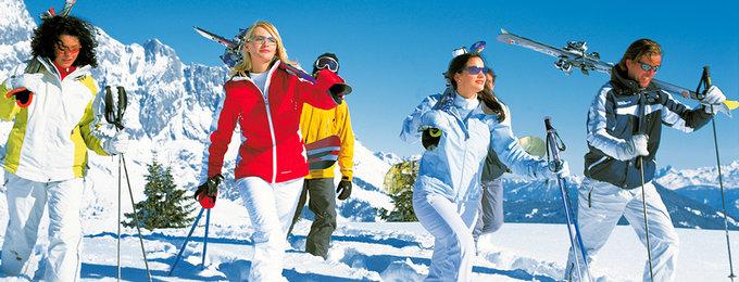 Wintersport Canazei