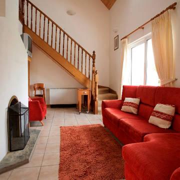 Voorbeeld woonkamer Burren Way Vakantiewoningen