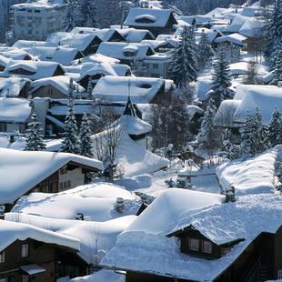 Adelboden wintersfeer