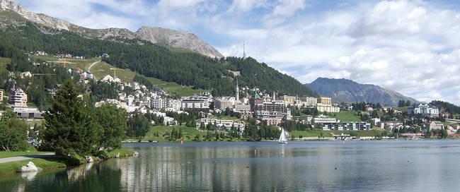 Meer bij St. Moritz
