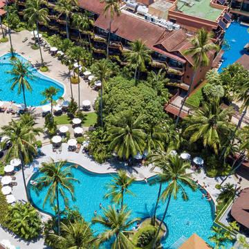 Pools - Patong Merlin Hotel Patong Merlin Hotel