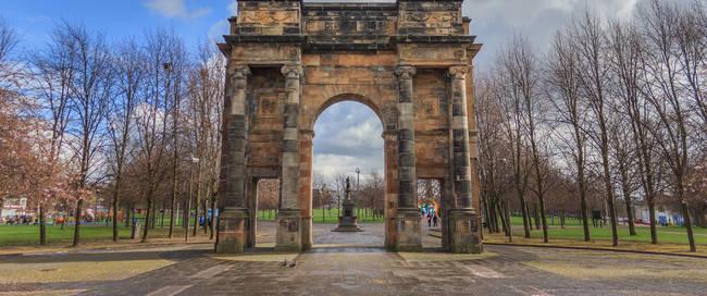 Glasgow Green toegangspoort