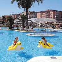 Speelplezier in zwembad