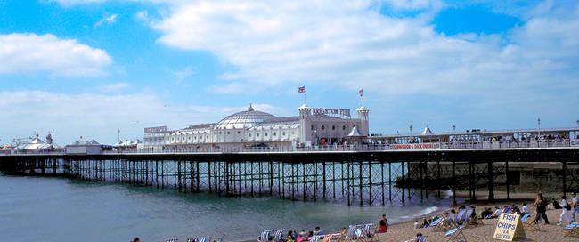 Brighton - Palace pier