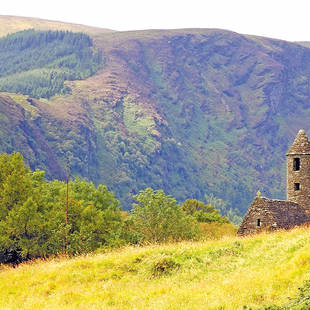 St. Kevin's ancient church in Glendalough, Wicklow