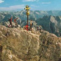 Boven op de Zugspitze