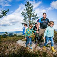 Familie wandeling Hallingdal
