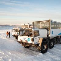 Supertruck Into the Glacier
