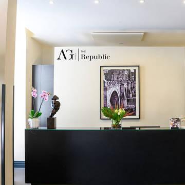 Receptie The Republic (voorheen: Smooth Hotel Rome Repubblica)