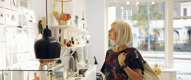 Design winkelen - Foto: Nicho Södling