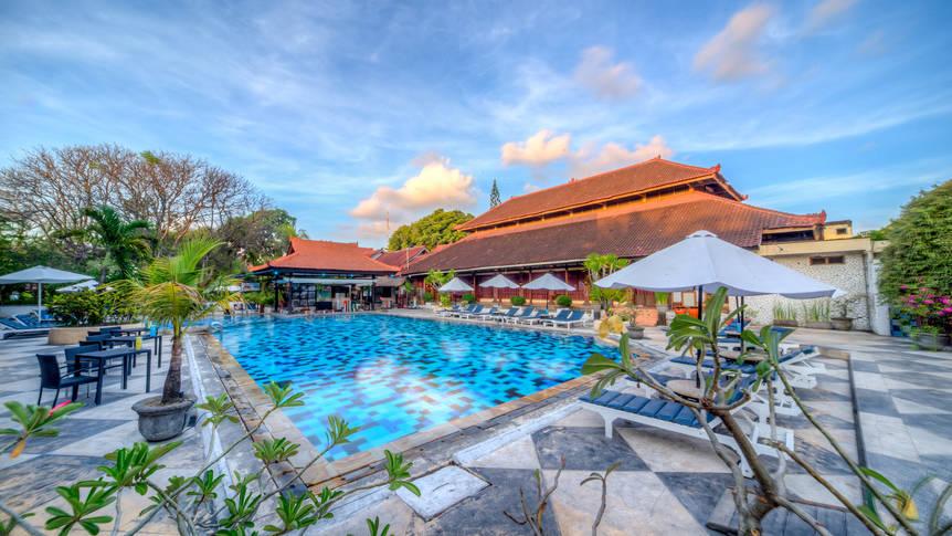 Zwembad Grand Istana Rama Kuta