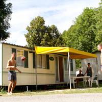 Stacaravan Lime Rent a Tent