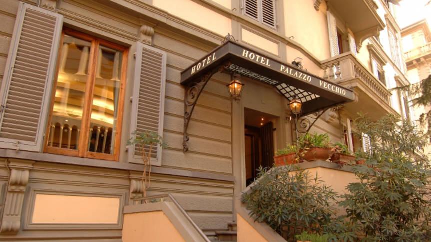 Voorzijde Hotel Palazzo Vecchio