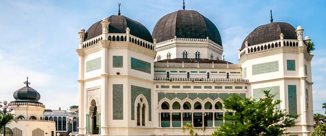 Grand moskee in Medan