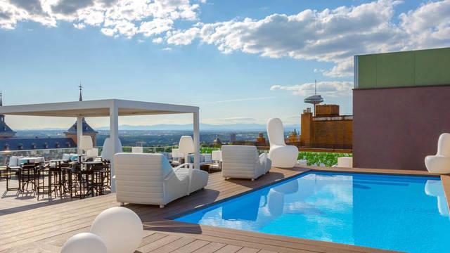 Zwembad Hotel Exe Moncloa