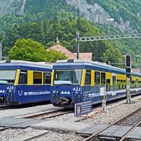 Trein Berner Oberland