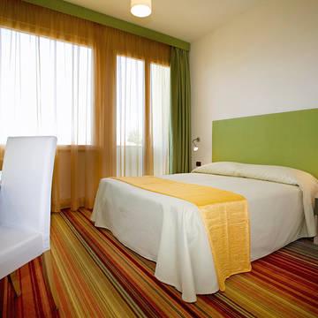 Voorbeeld kamer Hotel Suisse