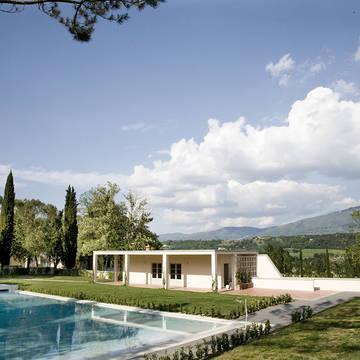 Tuin met zwembad Relais Villa Il Palagio