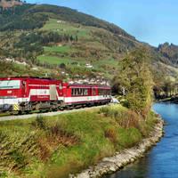 Trein Pinzgau - Zell am See - Kaprun