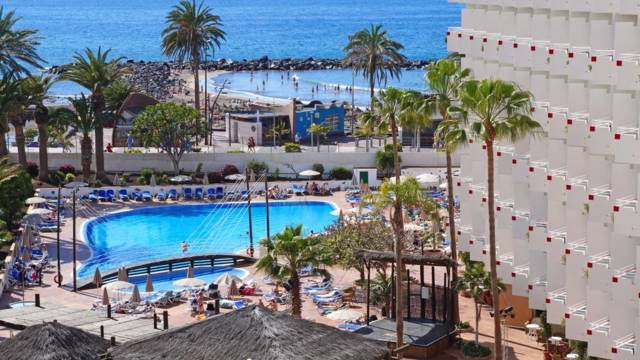 Zwembad Hotel Troya