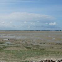 Baai van Somme in Le Crotoy