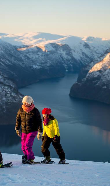 6-daagse rondreis inclusief vlucht Winters Fjord Avontuur