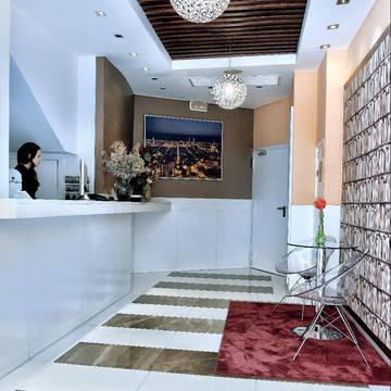 Receptie Hotel HLG CityPark Pelayo